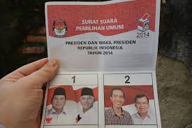 photo of ballot